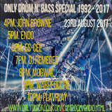 Only Drum n Bass 92/17 Special on OOS Radio 23-Aug-17