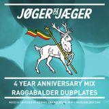 4 YEAR ANNIVERSARY MIX - RAGGABALDER DUBPLATES