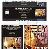 """""""United We Dance"""" Live @ 'Winter Whiteout', Parnell at the Aggie Theatre, Fort Collins, CO."""