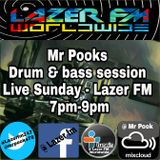 Drum & Bass Show - Mr Pook's Sunday Sessions - Lazer FM - 12th Mar 2017