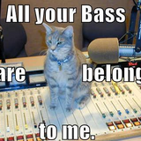 All Your Bass are Belong to Me
