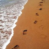 Footprints in the sand. A message from Pastor Pat Fitzgerald on UCB Ireland Rad8io