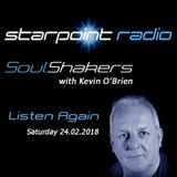 SoulShakers with Kevin O'Brien - Saturday 24th February 2018