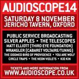 AUDIOSCOPE14 festival lineup