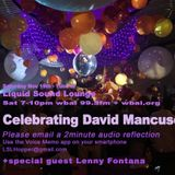 LSL Radio Nov 19, 2016 wbai99.5fm 7-10pm Celebrating David Mancuso and The Loft
