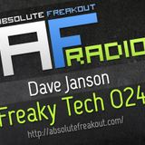 Dave Janson - Absolute Freakout: Freaky Tech 024