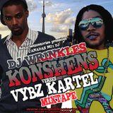 DJ WRINKLES PRESENTS KONSHENS VS VYBZ KARTEL MIX TAPE 2K13