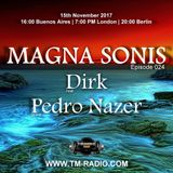 Pedro Nazer - Guest Mix - MAGNA SONIS 024 (15th November 2017) on TM Radio