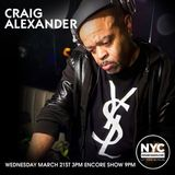 Craig Alexander Guest Mix NYCHOUSERADIO.COM 2018
