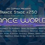 Joe Cormack pres. Trance Stage #250 - MaxRevenge Guestmix - 09-FEB-2019