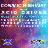 Cosmic Highway - Hardsilence (Guest Mix) @ Pure Radio Holland_21FEB2016