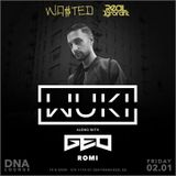 Wuki - LIVE @ DNA Lounge San Francisco  United States, 01/02/19