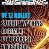 DJ TERRORIST @ D! Club Lausanne 12-07-2013