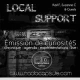 Local Support #08 -Emission de curiositéS- * live de Polemik Viktor *
