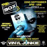 Vinyl Junkie @THE BOX 3. Bristol. 22-09-17