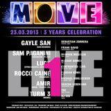 Frank Savio & Toe (B2B) Live @ 3 Years Move | Part 1 [Tanzhaus West] 23.03.13