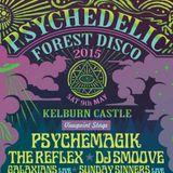 DJ Greenman @ Electrikal Tall Trees - Kelburn Psychedelic Forest Disco 2015