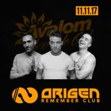Santi Garcia, Mario Falcon, Adolfo Tj @ Origen Remember Club (11.11.17)