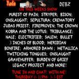 22.3.18 The Heavy Show with Demonize Debz on Metal Devastation Radio.com