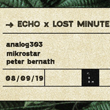 analog303 ECHO x Lost Minute vinyl only promo 2019.09.04