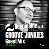 GROOVE JUNKIES is on DEEPINSIDE #08
