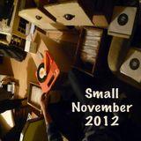 Small november 2012 digs