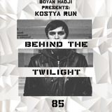 Kostya Run  - Behind The Twilight #85 Guest Mix@January.2019