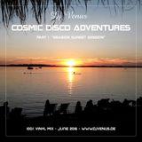 "Cosmic Disco Adventures - part 1  ""seaside sunset session"""