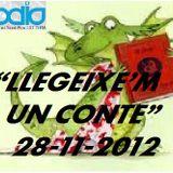 """LLEGEIXE'M UN CONTE"" 28-11-12"