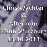 Chris Wächter - Afterhour @ LClub Würzburg 13.10.2013