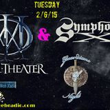 Guardians Of Night -Dream Theater & Symphony X 2/6/15 @ Spirto Web Radio