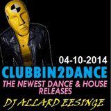 Allard Eesinge - Clubbin2Dance (04-10-2014)