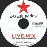 DJ SVEN MAY LIVE 28.12.2013 @ PEGGYS