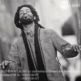 21/08/18 - Berlin Calling with b0ld feat. Joel Holmes aka i-Wonder