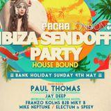 Franzo Kolms Pacha Ibiza Sendoff Mix 2014.05.04