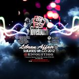 LOVETOUCH meets MI CASA OCTOBER 12 PROMO CD - MC MIGHTY MOE, MARTIN LIBERTY LARNER, INVASION, G-ENTS