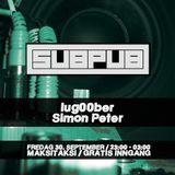 Simon Peter b2b lug00ber - Subpub 2016-09-30 Part 1 - Dubstep