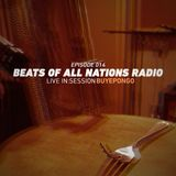 Beats of All-Nations Radio 014:  Buyepongo Live In:Session