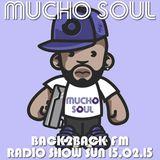 Mucho Soul Show Back2Back FM 15.02.15
