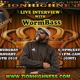 WORMBASS LIVE INTERVIEW WITH DJ JAMMY ON ZIONHIGHNESS RADIO 012518