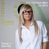 Sam Rio - Ethics Of Depth 021 - Jan 2013 - Guest Mix by Tania (Bucharest, Romania)