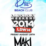 MAKJ - Live @ Drais Beach Club (Las Vegas) - 29.08.2014