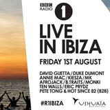 BBC Radio 1 in Ibiza 2014 - David Guetta, Duke Dumont, Annie Mac, Afrojack, Eric Prydz, Pete Tong...
