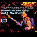 Hastings Retro-Rock Show on Hastings Rock - Week 3 - Sarah Harvey and Tony Davis - 24/05/2018