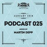 ► Pogo House Podcast #025 - Martin Depp (January 2018)