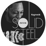 Solid Steel Radio Show 25/3/2016 Hour 1 - Kaytronik