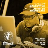 Planet V Radio Show on Bassdrive with  Transalate - July 2018