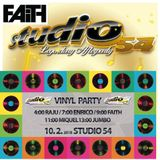 Dj Faith - Vinyl Party Studio 54 13.10.2018