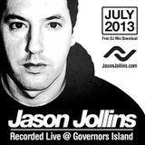 Jason Jollins - July 2013 - Live from Governors Island! - New York