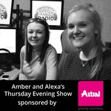 Amber and Alexa's Thursday Evening Show - 09 03 2017